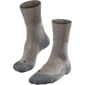 Falke TK1 Wool Skarpetki trekkingowe Kobiety, beżowy